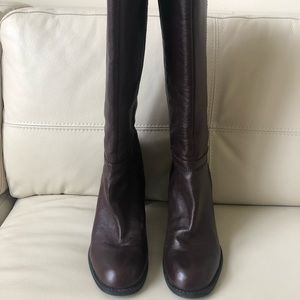 Nine West-NW7CHALA tall leather boots. Size 8.5M